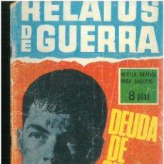 Tebeos: RELATOS DE GUERRA. Nº 103. EDICIONES TORAY. 1962. C-82. Lote 288373338