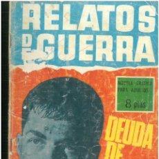 Tebeos: RELATOS DE GUERRA. Nº 103. EDICIONES TORAY. 1962. C-82. Lote 288373658