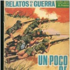 Tebeos: RELATOS DE GUERRA. Nº 122. EDICIONES TORAY. 1962. C-82. Lote 288374818