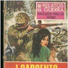 Tebeos: RELATOS DE GUERRA. Nº 151. EDICIONES TORAY. 1962. C-82. Lote 288380528