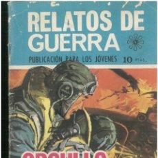 Tebeos: RELATOS DE GUERRA. Nº 189. EDICIONES TORAY. 1962. C-82. Lote 288390698