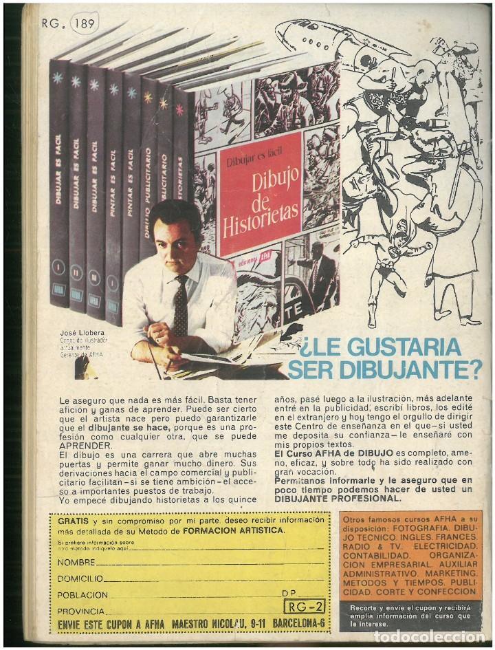 Tebeos: RELATOS DE GUERRA. Nº 189. EDICIONES TORAY. 1962. C-82 - Foto 2 - 288390698