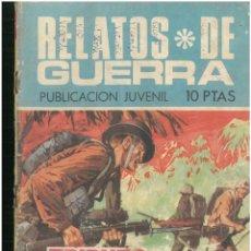 Tebeos: RELATOS DE GUERRA. Nº 184. EDICIONES TORAY. 1962. C-82. Lote 288391298