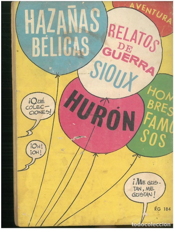 Tebeos: RELATOS DE GUERRA. Nº 184. EDICIONES TORAY. 1962. C-82 - Foto 2 - 288391298
