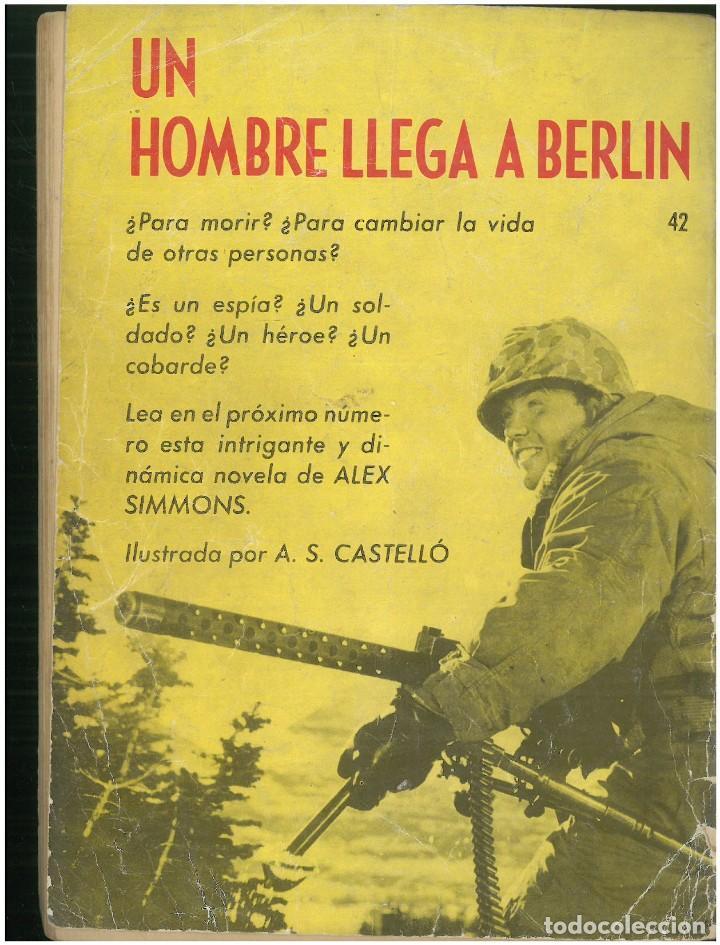 Tebeos: HAZAÑAS BELICAS. Nº 42. EDICIONES TORAY. 1961. C-82 - Foto 2 - 288574978
