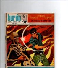 Tebeos: HURON Nº 11. VIAJE AL PELIGRO, UNA AVENTURA DE DONALD CASH. TORAY, 1967. Lote 288716923
