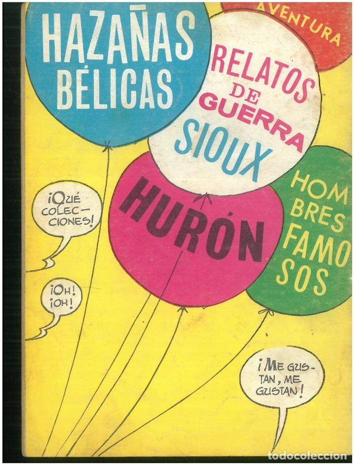 Tebeos: HAZAÑAS DEL OESTE. Nº 179. EDICIONES TORAY. 1961. C-82 - Foto 2 - 289348258