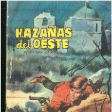 Tebeos: HAZAÑAS DEL OESTE. Nº 62. EDICIONES TORAY. 1962. C-82. Lote 289351278