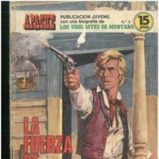 Tebeos: APACHE. Nº 3. EDICIONES TORAY. 1974. C-82. Lote 289355593