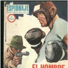 Tebeos: ESPIONAJE. Nº 62. EDICIONES TORAY. 1974. C-82. Lote 289361598