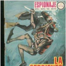 Tebeos: ESPIONAJE. Nº 60. EDICIONES TORAY. 1974. C-82. Lote 289361788