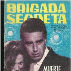 Tebeos: BRIGADA SECRETA. Nº 53. EDICIONES TORAY. 1962. C-82. Lote 289535628