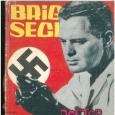 Tebeos: BRIGADA SECRETA. Nº 93. EDICIONES TORAY. 1962. C-82. Lote 289539608