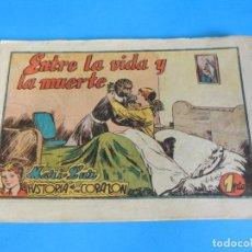 Tebeos: MARI-LUZ : ENTRE LA VIDA Y LA MUERTE · HISTORIA DE UN CORAZÓN. Lote 289677933