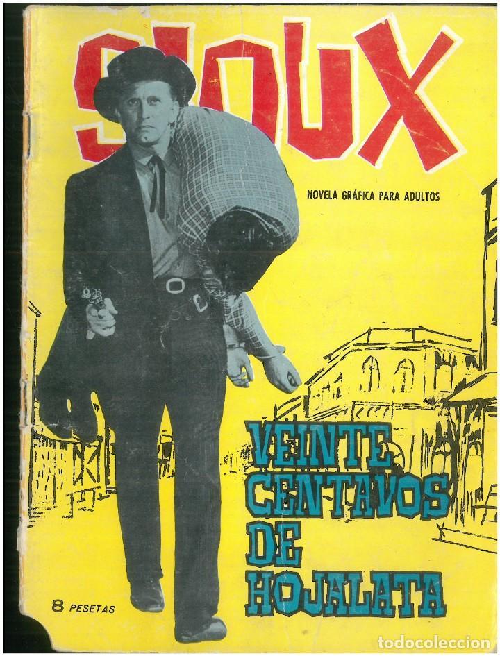 SIOUX. Nº 21. EDICIONES TORAY. 1964. C-82 (Tebeos y Comics - Toray - Sioux)
