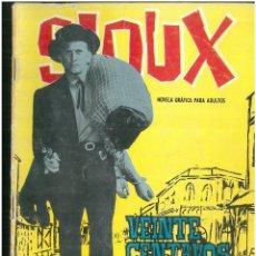 Tebeos: SIOUX. Nº 21. EDICIONES TORAY. 1964. C-82. Lote 289689338
