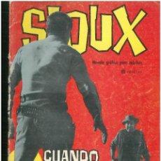 Tebeos: SIOUX. Nº 22. EDICIONES TORAY. 1964. C-82. Lote 289691723