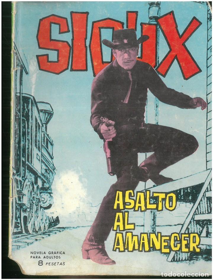 SIOUX. Nº 23. EDICIONES TORAY. 1964. C-82 (Tebeos y Comics - Toray - Sioux)