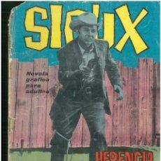 Tebeos: SIOUX. Nº 26. EDICIONES TORAY. 1964. C-82. Lote 289692548