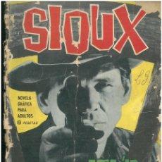 Tebeos: SIOUX. Nº 30. EDICIONES TORAY. 1964. C-82. Lote 289706283