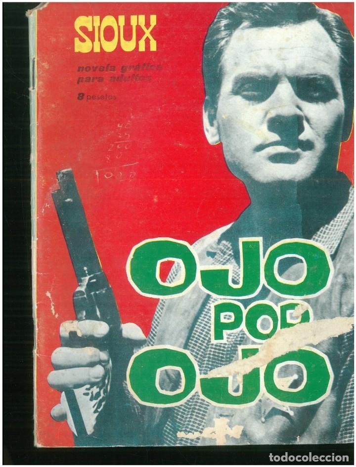 SIOUX. Nº 33. EDICIONES TORAY. 1964. C-82 (Tebeos y Comics - Toray - Sioux)
