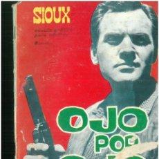 Tebeos: SIOUX. Nº 33. EDICIONES TORAY. 1964. C-82. Lote 289706818