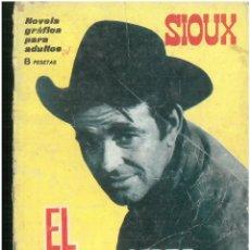 Tebeos: SIOUX. Nº 36. EDICIONES TORAY. 1964. C-82. Lote 289707228