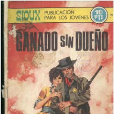 Tebeos: SIOUX. Nº 145. EDICIONES TORAY. 1964. C-82. Lote 289720283