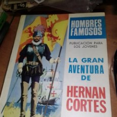 Tebeos: COLECCION HOMBRES FAMOSOS PUBLICACIÓN JUVENIL A FALTA DE NUMERO EDICIONES TORAY. Lote 290233778