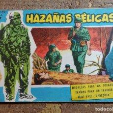 Giornalini: COMIC DE HAZAÑAS BELICAS MEDALLAS PARA COBARDES Nº 170. Lote 291503628