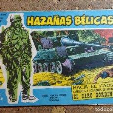 Giornalini: COMIC DE HAZAÑAS BELICAS HACIA EL CAOS Nº 181. Lote 291503923