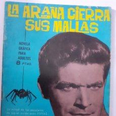 Tebeos: ESPIONAJE - Nº 2 - LA ARAÑA CIERRA SUS MALLAS-GRAN ANTONIO BORRELL-1965-BUENO-ÚNICO EN TC-LEAN-5650. Lote 292026728