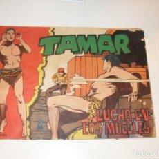 Tebeos: TAMAR 182,DE LOS ULTIMOS.ORIGINAL APAISADO,EDICIONES TORAY,AÑO 1961.. Lote 293549038