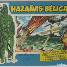 Tebeos: HAZAÑAS BELICAS - VOL.56 - LOCOS DEL AIRE - BOIXCAR - COMIC. Lote 293706638
