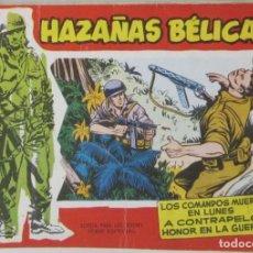 Tebeos: HAZAÑAS BELICAS - NUMERO 35 - LOS COMANDOS MUEREN EN LUNES - COMIC. Lote 293706713