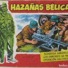 Tebeos: HAZAÑAS BELICAS - NUMERO 7 -SONRISA AMARILLA - COMIC. Lote 293707303