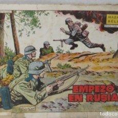 Tebeos: HAZAÑAS BELICAS - AÑO X Nº 252 - EMPEZO EN RUSIA - BOIXCAR - COMIC. Lote 293712003