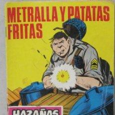 Tebeos: HAZAÑAS BELICAS - Nº 205 - METRALLA Y PATATAS FRITAS - COMIC. Lote 293716478