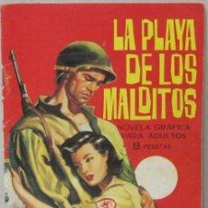 Tebeos: HAZAÑAS BELICAS - Nº 77 - LA PLAYA DE LOS MALDITOS - COMIC. Lote 293716913