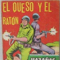 Tebeos: HAZAÑAS BELICAS - Nº 263 - EL QUESO Y EL RATON - COMIC. Lote 293718208