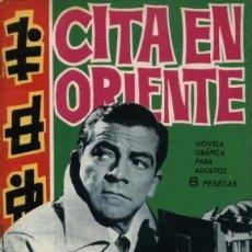 Tebeos: ESPIONAJE-TORAY- Nº 8 -CITA EN ORIENTE-1965-GRAN CARRILLO-BUENO-DIFÍCIL-LEAN-5677. Lote 293823553