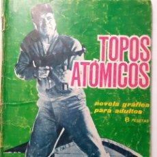Tebeos: ESPIONAJE-TORAY- Nº 14 -TOPOS ATÓMICO-1965-GRAN JOSÉ GARCÍA PIZARRO-CASI BUENO-DIFÍCIL-LEAN-5678. Lote 293824433