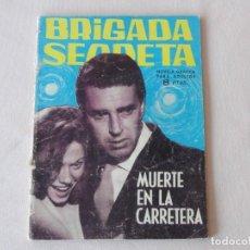 Tebeos: BRIGADA SECRETA Nº 53. EDICIONES TORAY. AÑOS 1962-1967. C-83. Lote 293995243