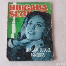 Tebeos: BRIGADA SECRETA Nº 55. EDICIONES TORAY. AÑOS 1962-1967. C-83. Lote 293996263