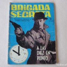 Tebeos: BRIGADA SECRETA Nº 58. EDICIONES TORAY. AÑOS 1962-1967. C-83. Lote 293997158