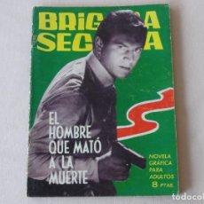 Tebeos: BRIGADA SECRETA Nº 59. EDICIONES TORAY. AÑOS 1962-1967. C-83. Lote 293997363