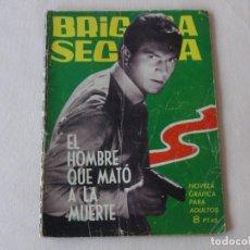 Tebeos: BRIGADA SECRETA Nº 59. EDICIONES TORAY. AÑOS 1962-1967. C-83. Lote 293997813