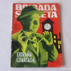Tebeos: BRIGADA SECRETA Nº 72. EDICIONES TORAY. AÑOS 1962-1967. C-83. Lote 294007903