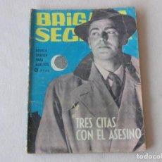 Tebeos: BRIGADA SECRETA Nº 74. EDICIONES TORAY. AÑOS 1962-1967. C-83. Lote 294016178