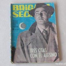 Tebeos: BRIGADA SECRETA Nº 74. EDICIONES TORAY. AÑOS 1962-1967. C-83. Lote 294016433